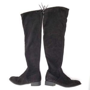 Fioni Microfiber Tall Boots - Size 7.5